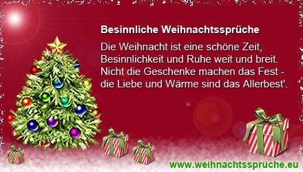 Besinnliche weihnachtsspr che for Besinnliche weihnachtszitate